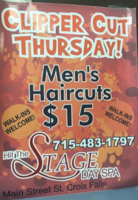Hit the Stage Mens Haircut